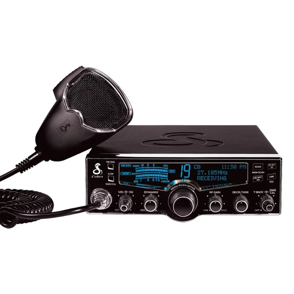 Cobra 29LX CB Radio with 4-Color LCD Display