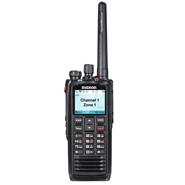TPD-1124 VHF 5/1W 1024Ch DMR Tier II Full Color Display Handheld