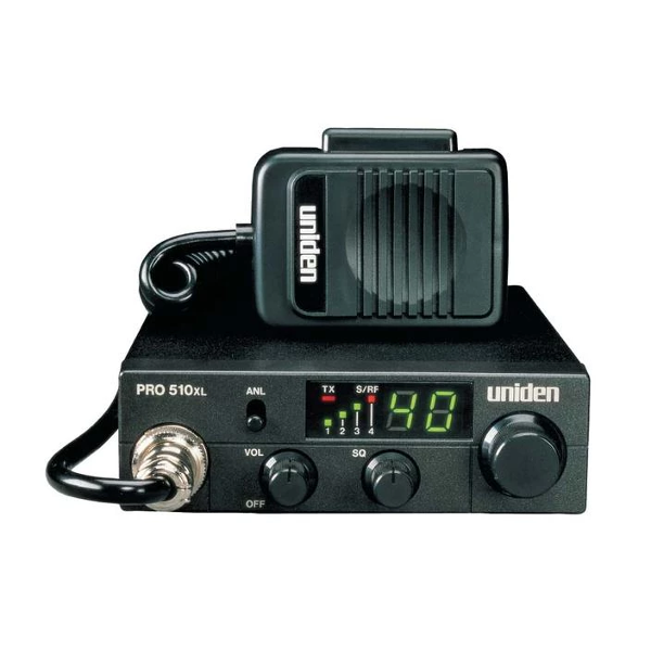 PRO510XL 40 Channel Compact Mobile CB Radio