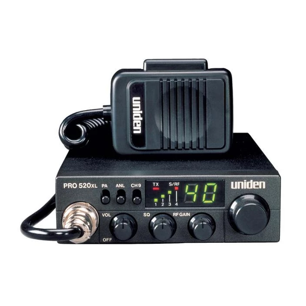 PRO520XL Compact Mobile CB Radio with PA
